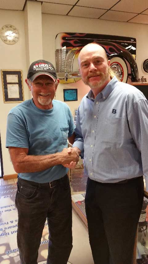GERRY & DRAG RACING LEGEND, BIG DADDY DON GARLITS