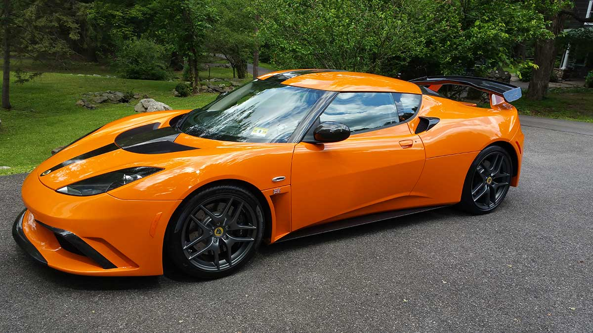 GERRY WITH THE WELLS BROS LOTUS EVORA 08-17