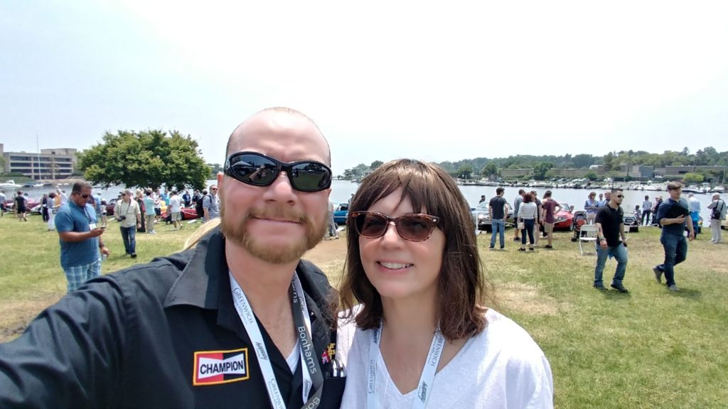 GERRY & PATRICIA AT THE GREENWICH CONCOURS D'ELEGANCE IN GREENWICH, CT
